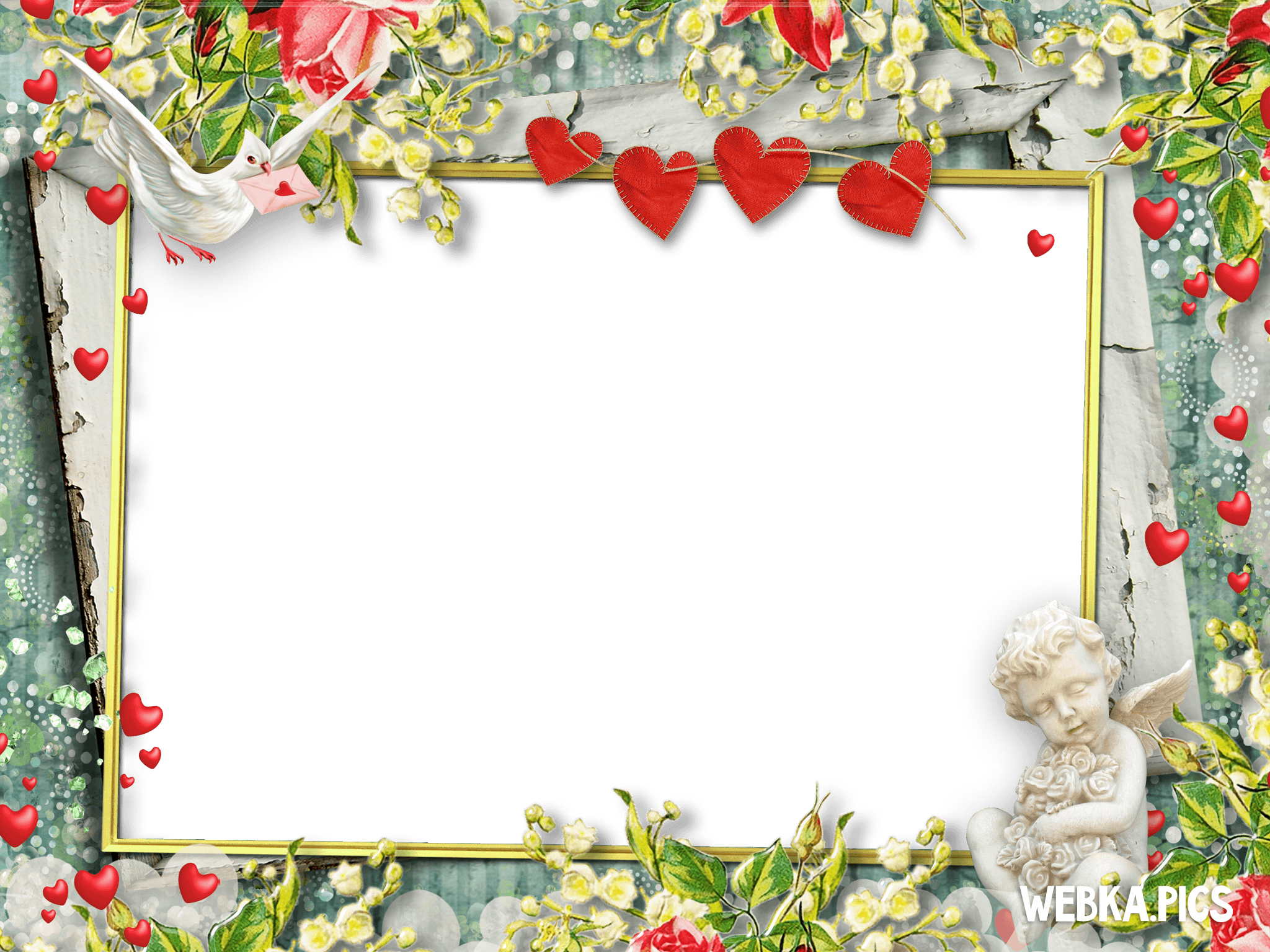 romantic photo frame picture